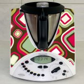 Sticker Thermomix TM 31 Patrat Abstract