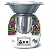 Sticker Thermomix TM 5 Abstract India