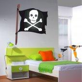 stickere copii Steag Pirat