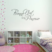 Stickers bonne nuit princesse