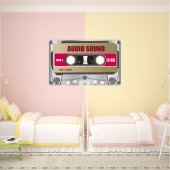 Autocollant Stickers ado cassette