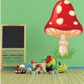 Autocollan Stickers enfant champignon