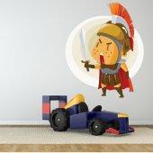 Autocollant Stickers enfant chevalier