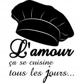 Stickers citation Cuisine