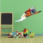 Autocollant Stickers enfant cosmonaute