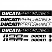 Autocollant - Stickers Ducati 1198s