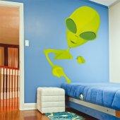 Autocollant Stickers enfant extraterrestre