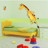 Autocollant Stickers enfant girafe