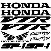 Autocollant - Stickers Honda vtr sp1