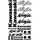 Autocollant - Stickers Kawasaki ninja ZX-9r