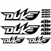 Autocollant - Stickers Ktm 690 duke