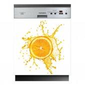 Stickers lave vaisselle orange
