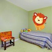 Autocollant Stickers enfant lionceaux