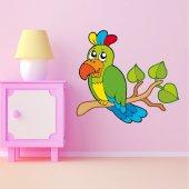 Stickers Oiseaux Branche