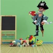 Autocollant Stickers pirate