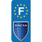Stickers Plaque Dacia