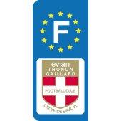 Stickers Plaque Evian Thonon