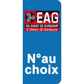 Stickers Plaque Guingamp