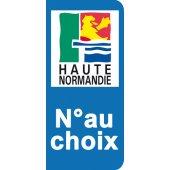 Stickers Plaque Haute Normandie