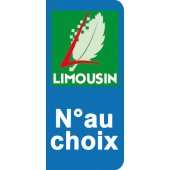Stickers Plaque Limousin