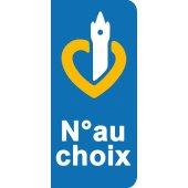Stickers Plaque Nord Pas de Calais