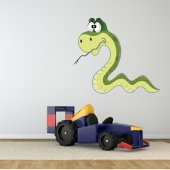 Autocollant Stickers enfant serpent