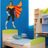 Autocollant Stickers enfant super hero