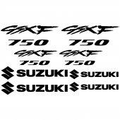 Autocollant - Stickers Suzuki GsxF 750