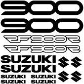 Autocollant - Stickers Suzuki RF900R