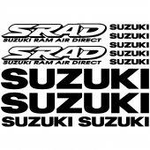 Autocollant - Stickers Suzuki SRAD