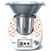 Stickers Thermomix TM5 A pois multucolore 4