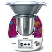 Stickers Thermomix TM5 Abstrait 6