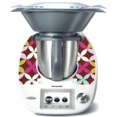 Stickers Thermomix TM5 Fleurs