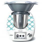 Stickers Thermomix TM5 Rond blanc