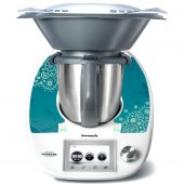 Stickers Thermomix TM5 Turquoise