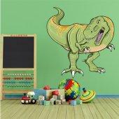 Autocollant Stickers enfant tyrannosaure