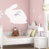 Stickers velleda lapin