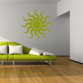 Sun Wall Stickers