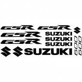 Suzuki Gsr 600 Decal Stickers kit