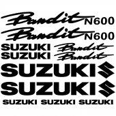 Suzuki N600 bandit Aufkleber-Set