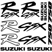 Suzuki R Gsx 750 Decal Stickers kit
