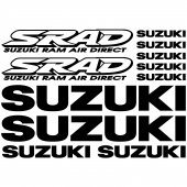 Suzuki SRAD Decal Stickers kit