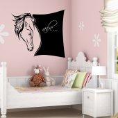 Tafelfolie Pferde