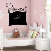 Tafelfolie Prinzessin