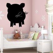 Tafelfolie Schwein
