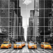 Taxi - Tiles Wall Stickers