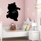 Teddy Bear - Chalkboard / Blackboard Wall Stickers