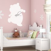 Teddy Bear - Whiteboard Wall Stickers