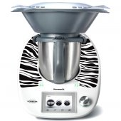 Thermomix TM5 Aufkleber Zebra