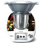 Thermomix TM5 Decal Stickers - Floral